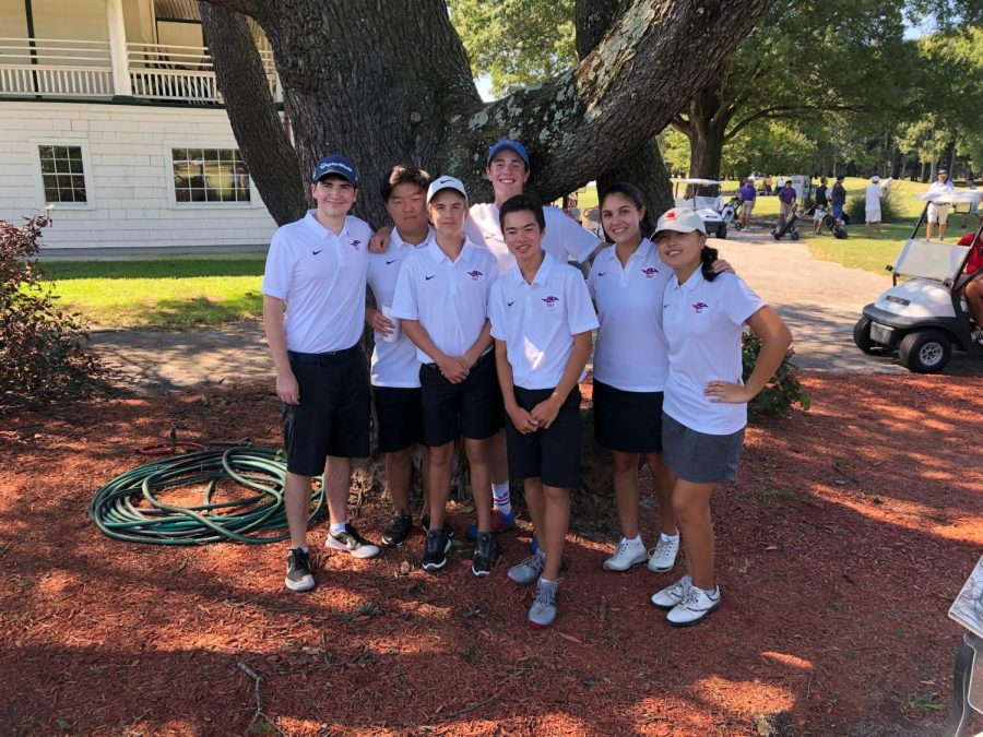 Golf team places third at regionals