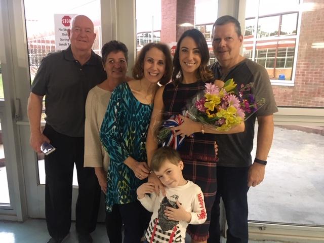 Rachel Thompson wins Teacher of the Year for 2020