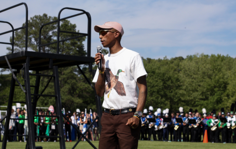 Pharrell and friends endorse Battle of the Bands held at PA
