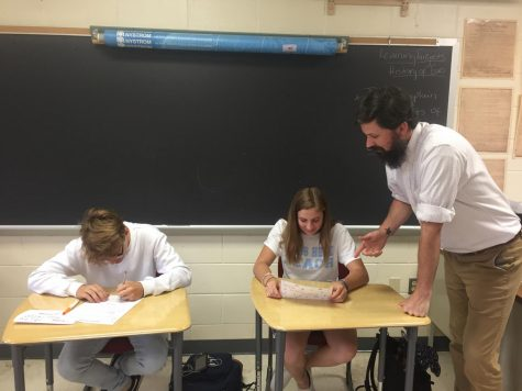 Math teacher Richard McHugh retires after teaching for 22 years at PA