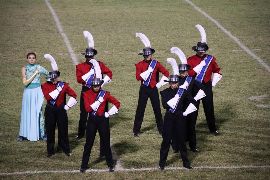 Fabulous Marching Cavaliers complete annual 'Drums Along the Boulevard'