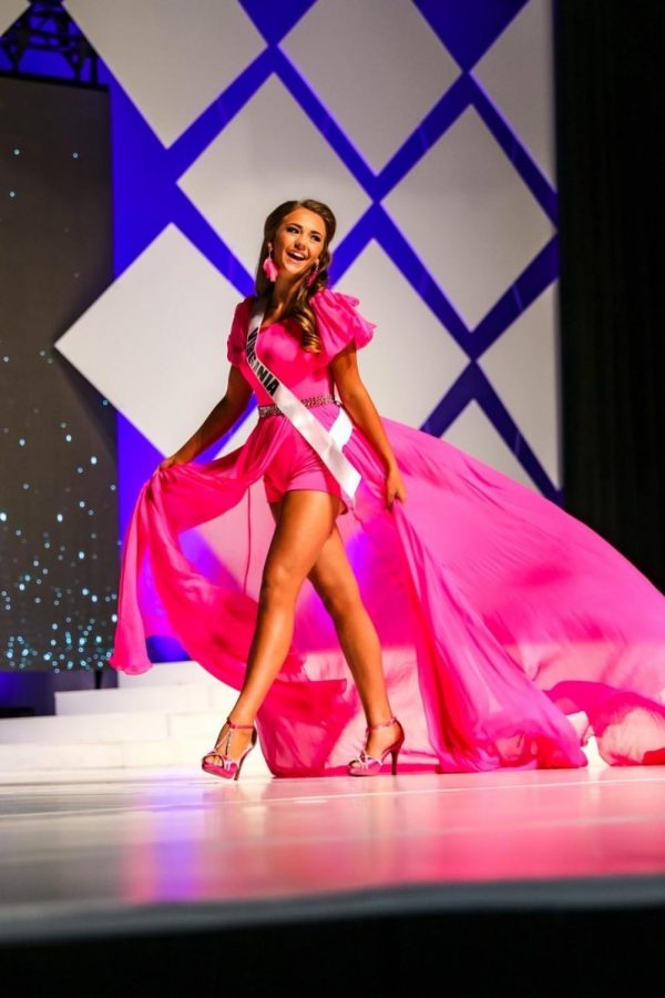 Freshman Hannah Grau competes in nationwide pageants